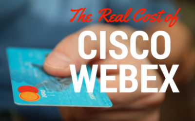 2018 Update: The Real Cost/Pricing for Cisco WebEx