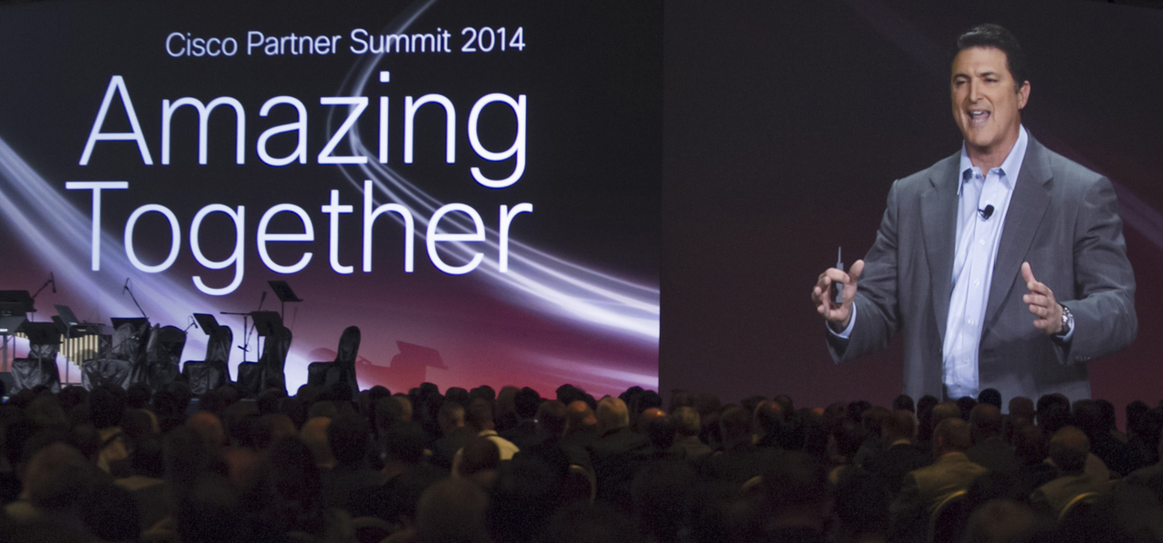 Inside The Cisco Partner Summit 2014