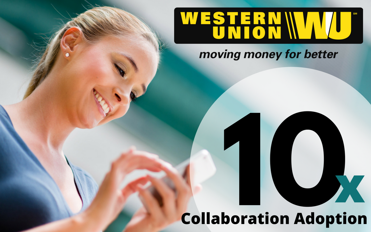 Case Study: Western Union Grows Usage 10x With Small Team With Successful Office365 + Pexip Deployment