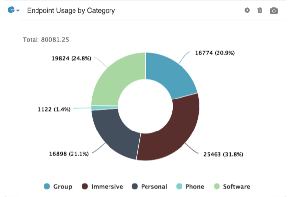 Endpoint Usage By Category
