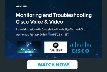 Webinar: Monitoring and Troubleshooting Cisco Voice and Video